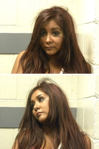 snooki musgshot, snookie mug shot, snooki arrest photos