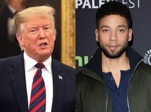 Donald Trump Tweets About Jussie Smollett